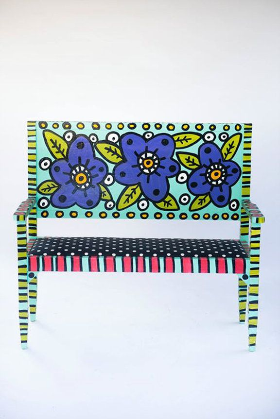 Emily's Original Art of Alabama offers Eclectic Artwork, Hand Painted Adirondack Chairs, Revamped Furniture for Sale and Interior Design. Call for more informat