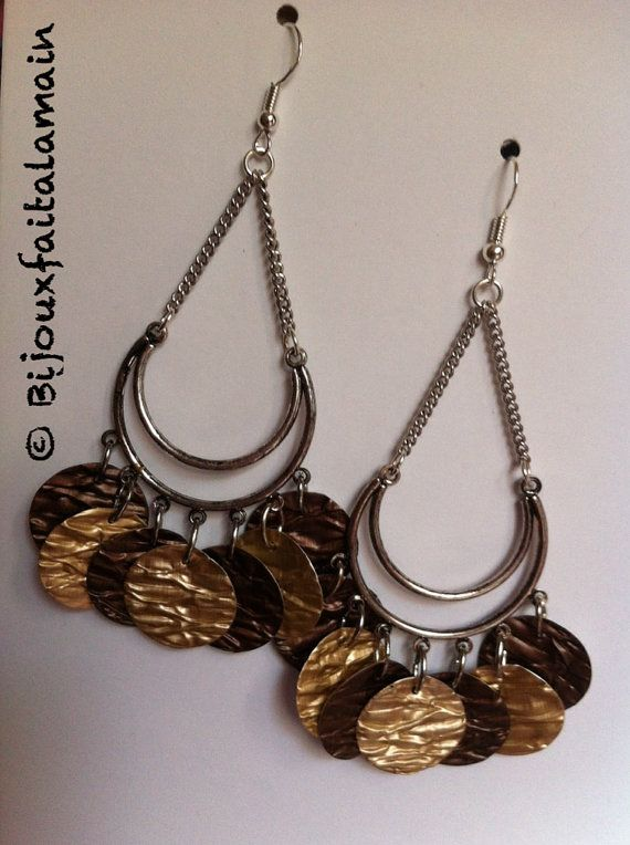 Bijoux nespresso: boucles d'oreilles par Bijouxfaitalamain13
