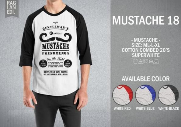 Raglan Mustache 18