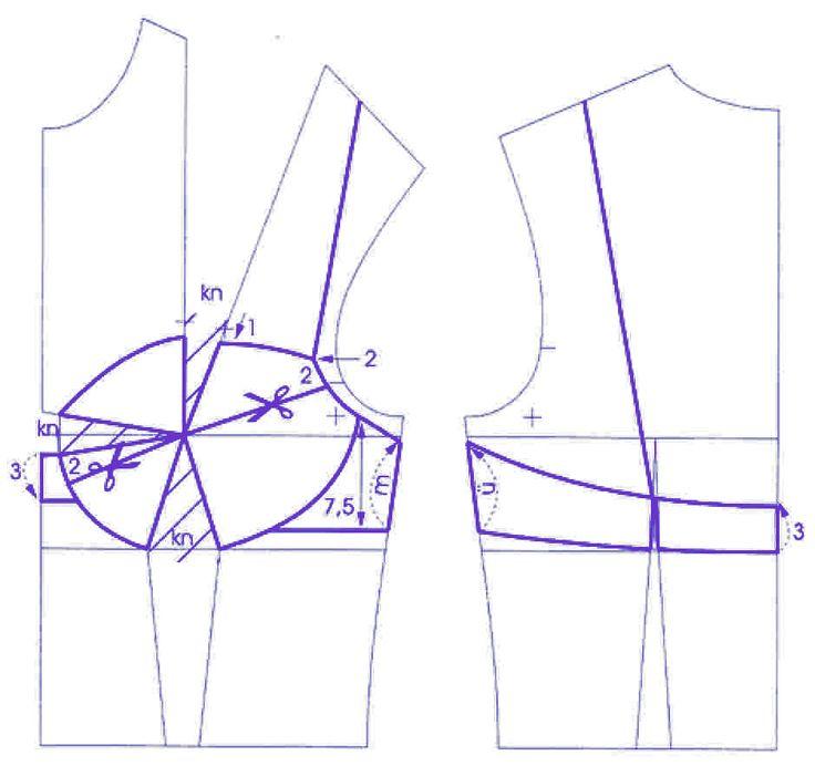 Construindo um sutiã padrão + MK fazendo. Discussão sobre LiveInternet - Serviço russo diários on-line