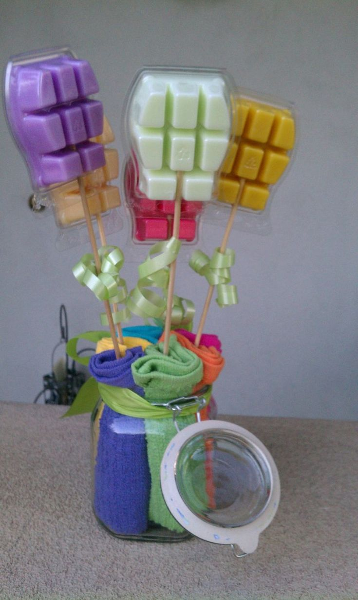 scentsy bouquet...possible drawing...booking gift