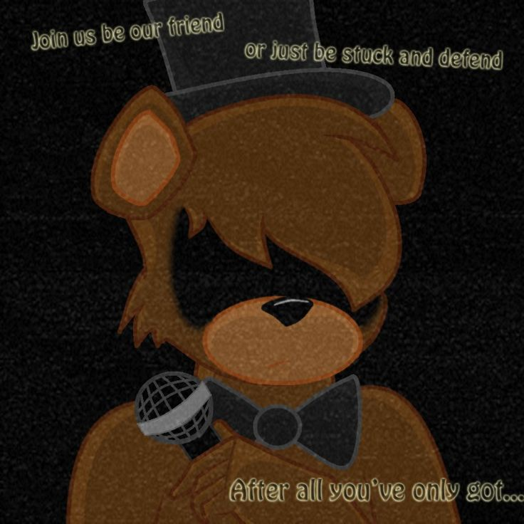 Our Friends And I Fnaf: 62 Best Images About 5 Nights At Freddy's On Pinterest
