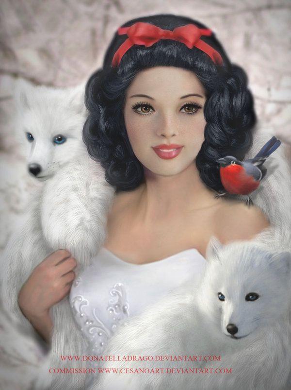 SNOW WHITE by =DonatellaDrago