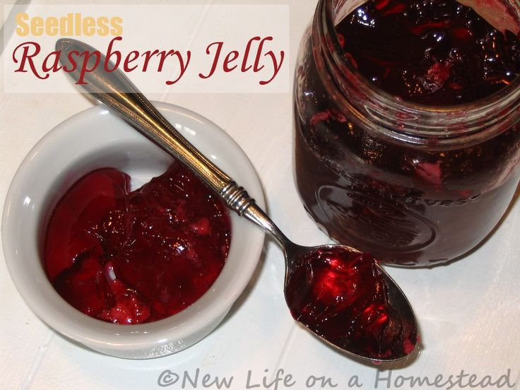 How To Make Seedless Raspberry Jelly {Recipe}. I made this a few weeks ago, and it is by far my FAVORITE jelly ever.
