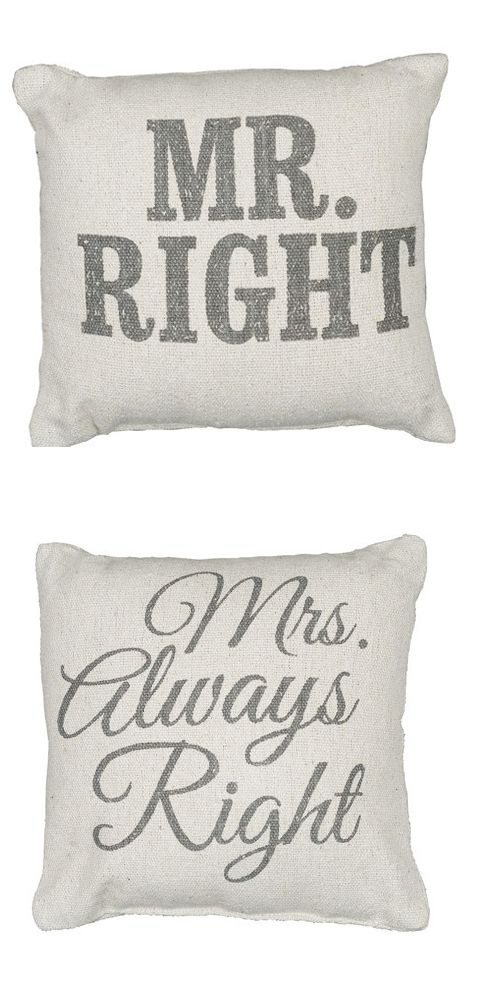 His & Hers Pillows
