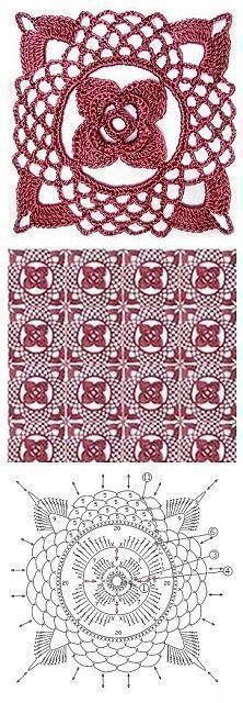 Patrones de motivos a Crochet » Útiles de Mujer