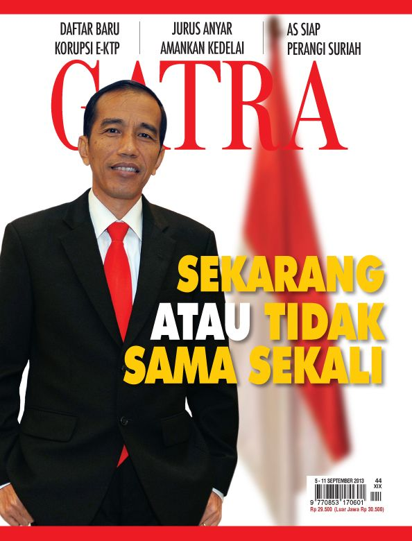 Jokowi - now or never President 2014!