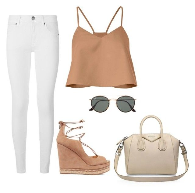 """""""Untitled #33"""" by cleovaladao on Polyvore featuring TIBI, Burberry, Sam Edelman, Ray-Ban and Givenchy"""