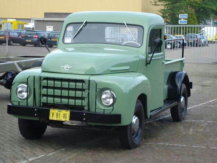 DAF pick-up truck 1956