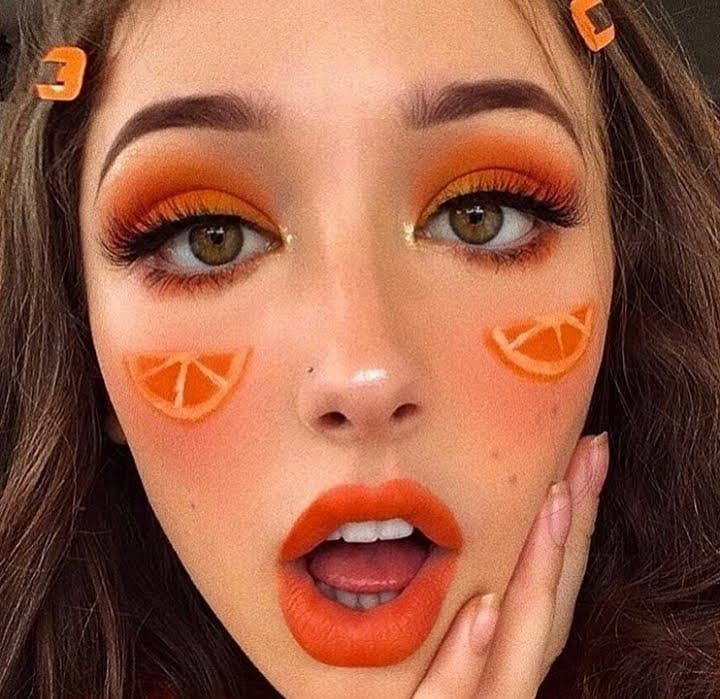 Expired Domain Expired In 2020 Orange Makeup Peach Makeup Flower Makeup
