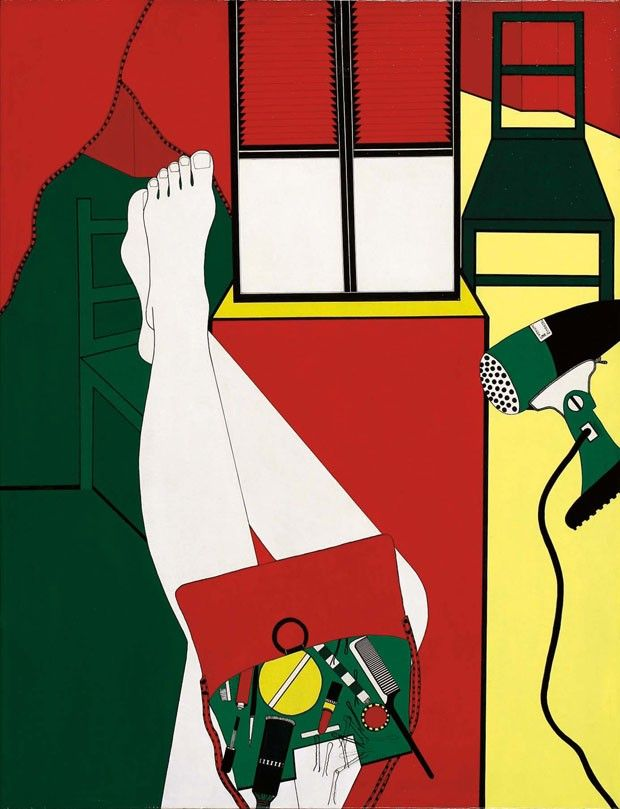 Sem título, Série Envolvimento, 1968, de Wanda Pimentel