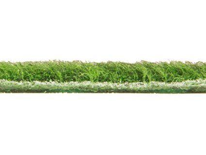 Rasenteppich Kunstrasen Comfort m. Noppen - 1,33m x 1,00m | der Standard Vlies-Kunstrasen mit Drainagenoppen | Gesamthöhe ca 5mm | Gewicht 1.150g/m² | mit Drainagenoppen und Wasserdurchlässig 30 Liter/Min/m² | Pflegeleicht & Strapazierfähig & weiche Vlies-Oberfläche | Kunstrasenteppich: Amazon.de: Garten