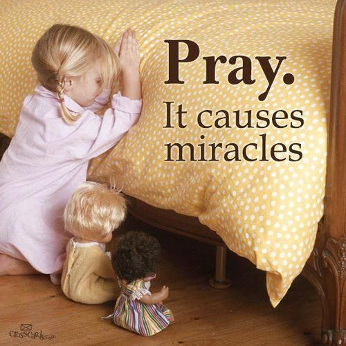 It causes miracles