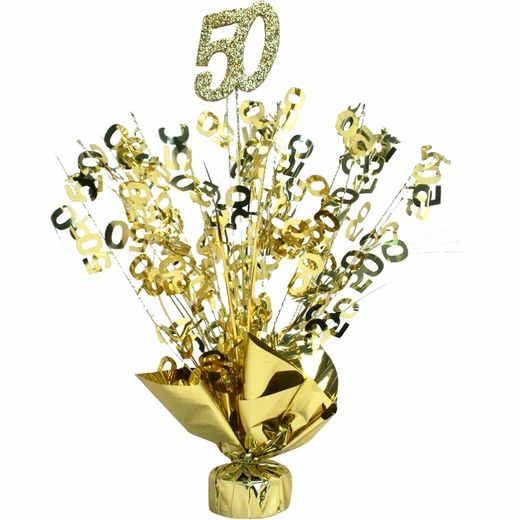 50th wedding anniversary party ideas | 50th Anniversary Gold Centerpiece Party Supplies, Party Favors, Party ...