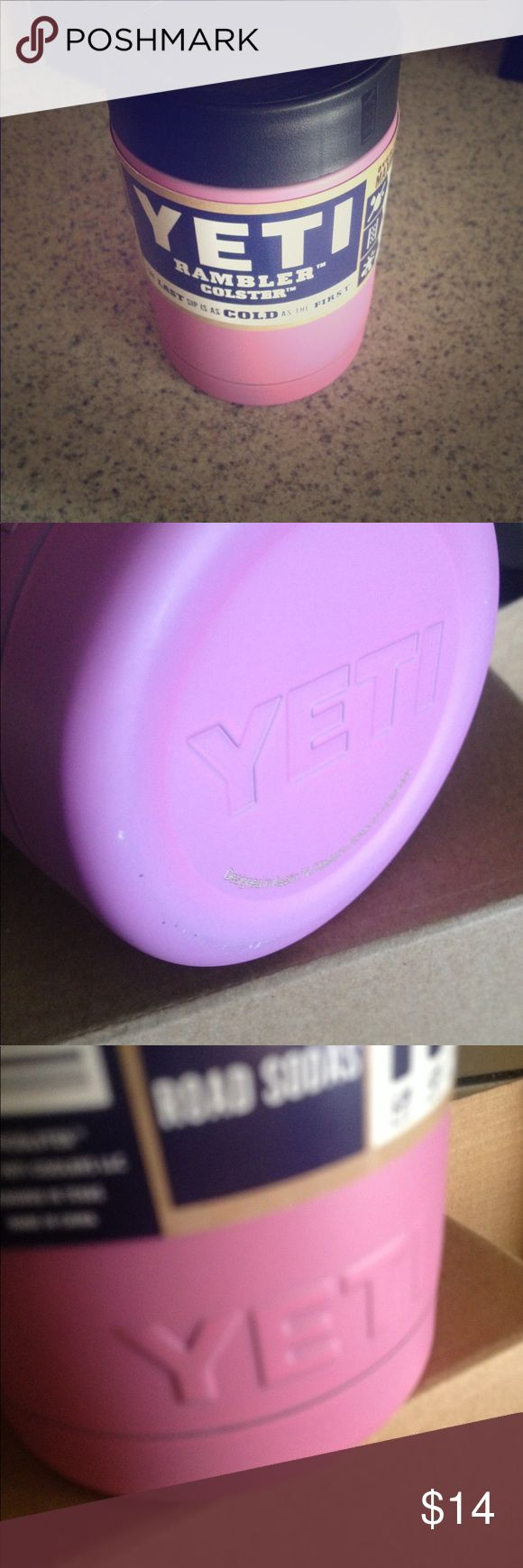 YETI Colster Rambler Cooler 12 oz Insulator Bottle YETI Colster Rambler Cooler 12 oz Insulator Bottle and Can Koozie sale sale yeti Other