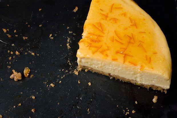Orange-Vanilla Ricotta Cheesecake | Yum yum | Pinterest | Birthdays ...
