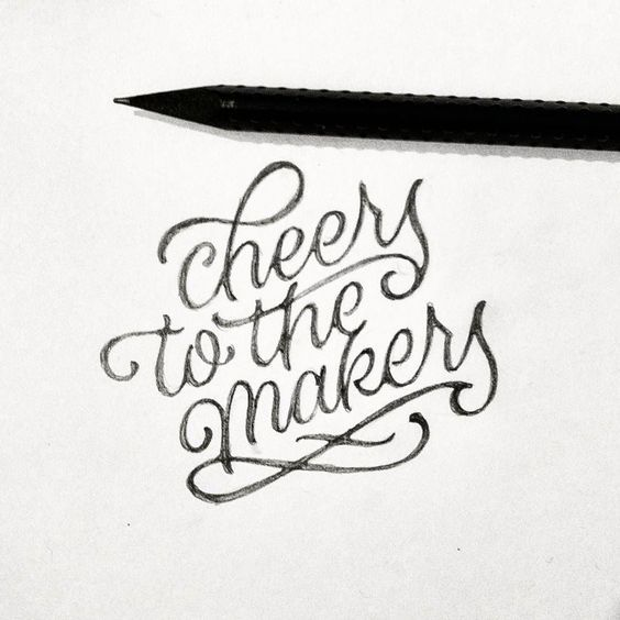 Beautiful Type, Lettering & Calligraphy Designs