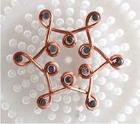 Midden Link naar 3 sterren sieraden Wire ketting - Sieraden Maken Project