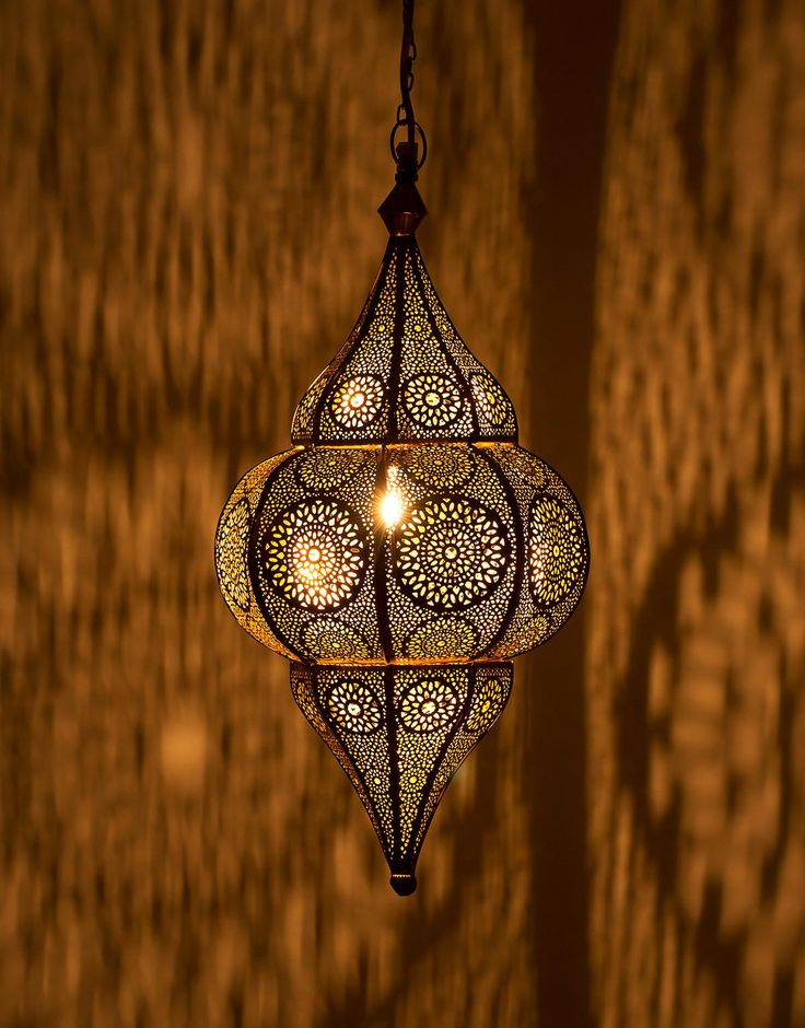 TAJ LAMP lampa mässing