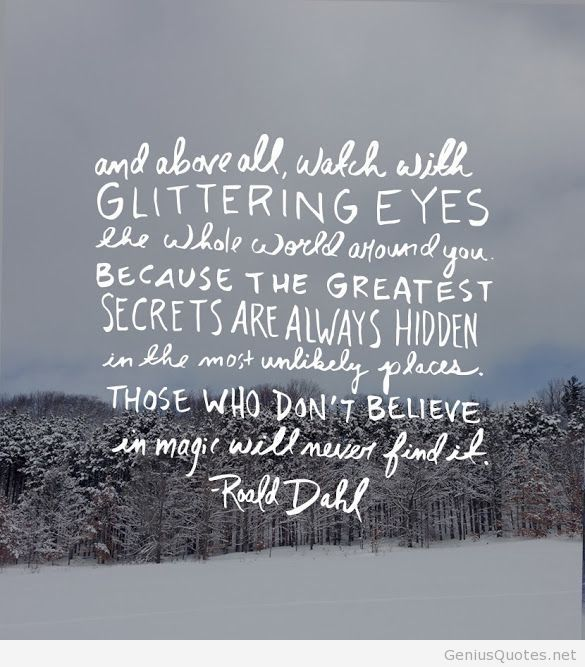 By Roald Dahl Quotes. QuotesGram