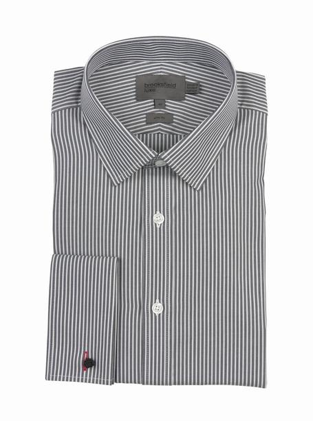 brooksfield LUXE - SLIM FIT - BFC869 CHARCOAL