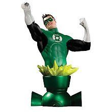 Heroes of the DC Universe: Green Lantern Bust by Diamond Comics Distributors. $58.99. Made of hand-painted, cold-cast porcelain. Designed by Carlos Pacheco. Sculpted by Jean St. Jean. Features Green Lantern Hal Jordan. From the Manufacturer                Green lantern kicks off the new, ongoing heroes of the DC universe bust series in a blaze of emerald light. Designed to complement the wildly popular women of the DC universe bust line, this new collection features heroes such ...