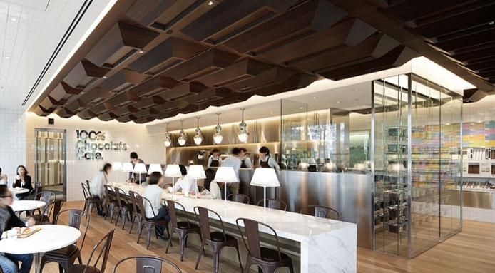 The Restaurant Designed Like A Chocolate Bar