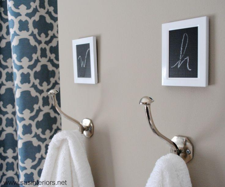 Best 25+ Bathroom towel hooks ideas only on Pinterest Diy - bathroom towel decorating ideas