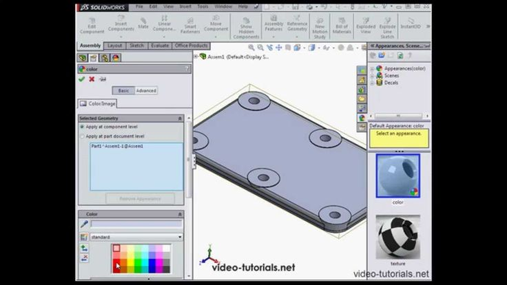 www.video-tutorials.net Save 10% on all courses: enter 'youtube' at checkout.  In this video from the Assembly course (SolidWorks 2014), we learn how to work with assembly sketches. This is part 2. For the first video in this series, go to http://youtu.be/hF8aE94UFLU.