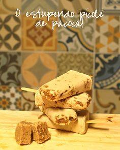 Borboletando   Receita: picolé de paçoca sem leite <3   http://borboletando.com.br