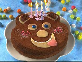 Gateau nounours. Facile! Teddy bear cake. Easy!