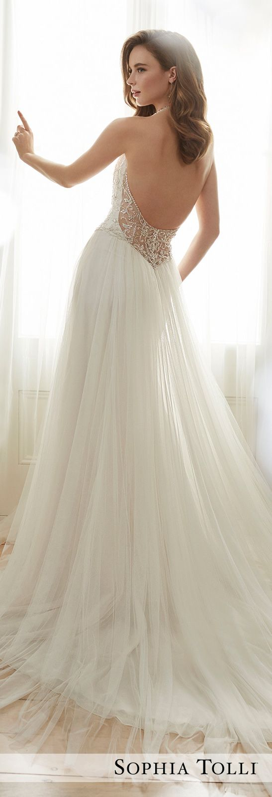 Wedding Dress by Sophia Tolli Spring 2017 Bridal Collection | Style No. » Y11714 Celestia