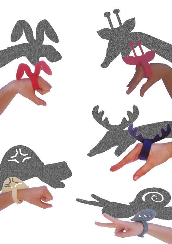 DIY Fun Shadow Puppets