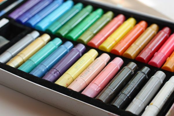 Faber & Castell Gelatos. Advice on mixing colors by @peonyparakeet