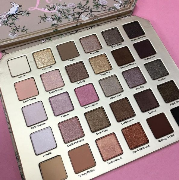 Yeah, well, Peach mania isn't even over yet and the Too Faced Natural Love Mega Eyeshadow Palette for Summer 2017 is already being leaked across Internet-l
