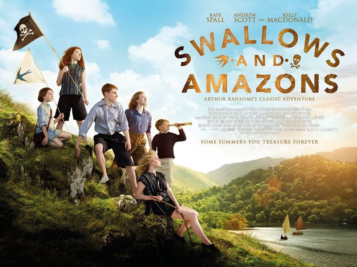 Check out the new poster for Swallows and Amazons   Live for Films