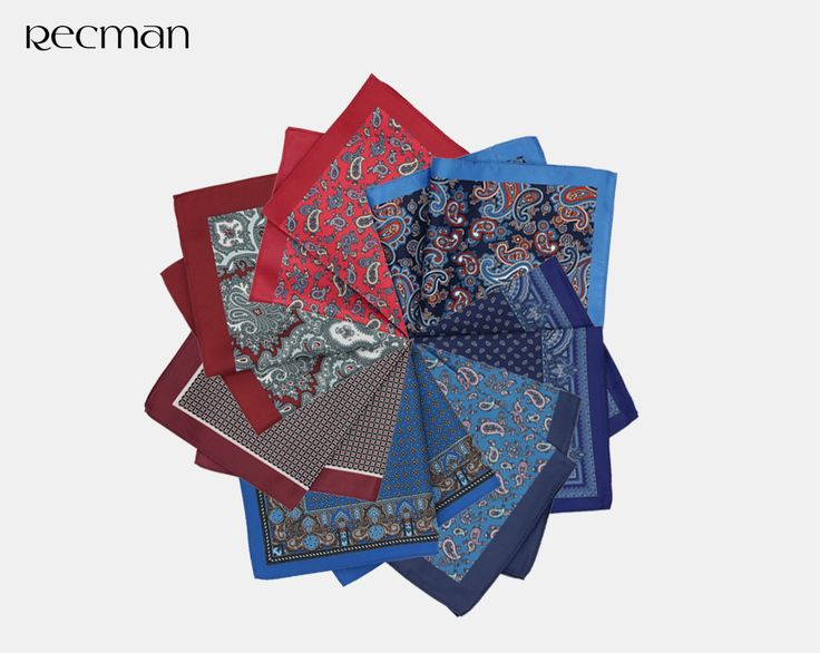 Niewielu producentów męskiej odzieży oferuje tak szeroki wybór wzorów poszetek. Traktujemy je jako standardowy dodatek do marynarki. Wyróżnia i dodaje niezwykłej elegancji. Dla początkujących w tej materii proponujemy jeden z naszych bestsellerów.  http://bit.ly/RecmanPoszetki