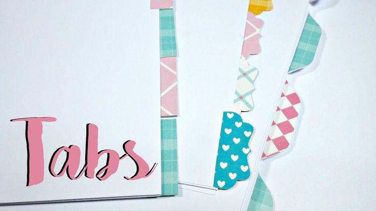 Cómo hacer separadores y pestañas para tu agenda planner