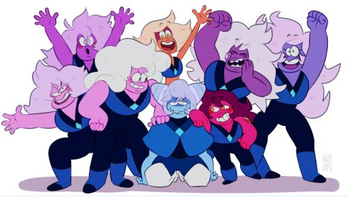 The Amethysts, Jasper, Carnelian, and Holly Blue Agate.