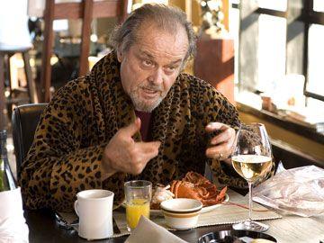 映画「The Departed」ではレオナルド・ディカプリオと共演した俳優ジャック・ニコルソン。