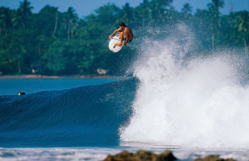 Dave Rastovich, airing it out.