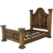 rustic cowhide bed western beds cowhide beds country beds rustic beds