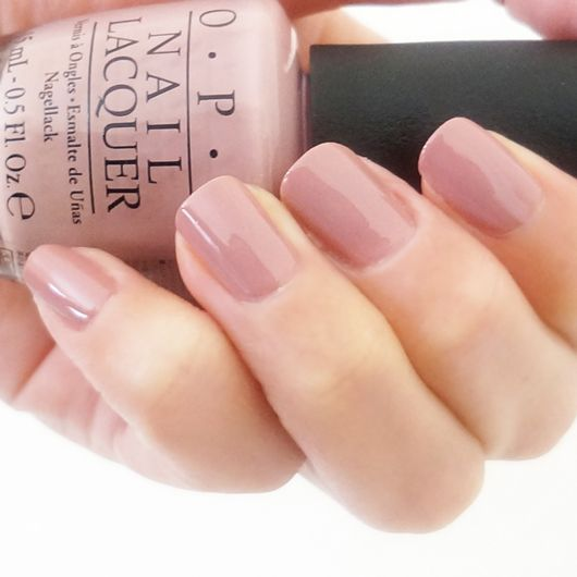 OPI F16 Tickle My France-y (gray/beige pink - dulce de leche is more orange/salmon, tickle my france-y is more pink)