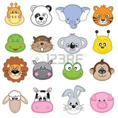 Ilustraci?n De La Colecci?n Cute Icon Animales Ilustraciones ...