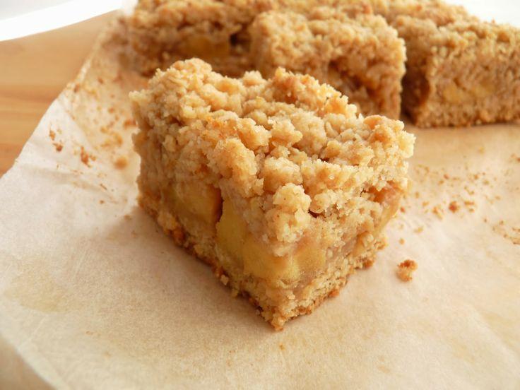 :pastry studio: Apple Toffee Bars