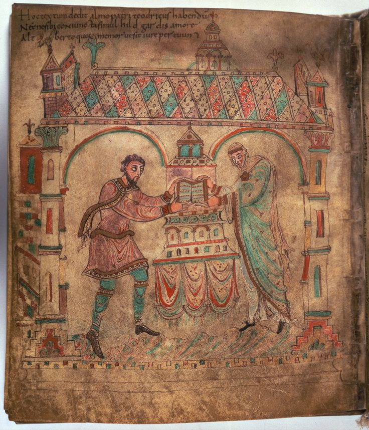 Koninklijke Bibliotheek, 76 F 1, Egmond Gospels, fol. 214v