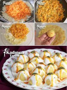 Yoğurtlu Havuçlu Patates Topları Tarifi