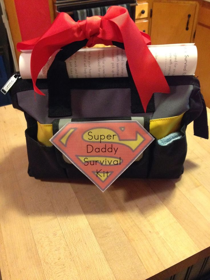My brother is a fantastic uncle so I know he will be an amazing daddy. My mom and I decided to give my brother something a little extra s...
