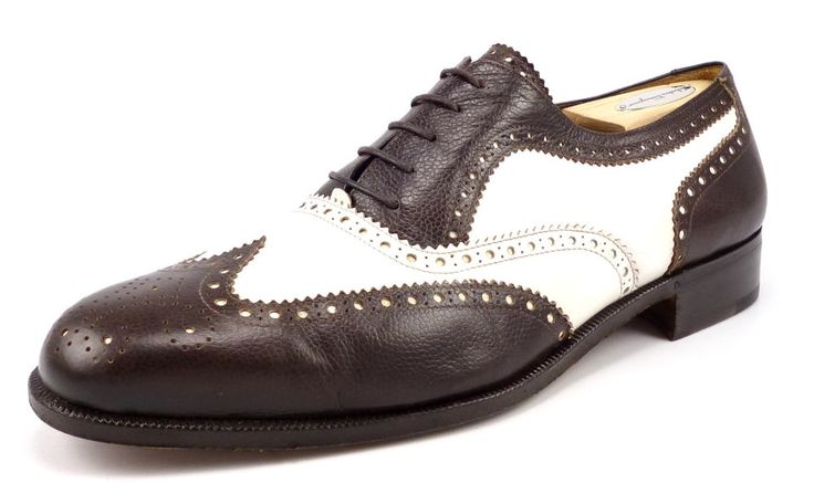 ferragamo mens shoes size 10 ee spectator wingtip oxfords