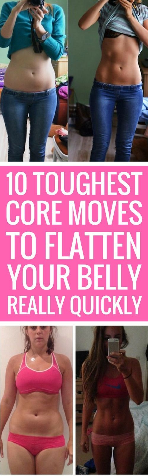 Who doesn't want a tight and toned core, and perhaps abs that pop? In addition to looking great, a strong core really cuts down on back soreness and aches and pains, so core training isn't just vanity, it's healthy! Here aresome of our favorite core-strengthening exercises to get you baring your belly and standing straighter … - Tap the pin if you love super heroes too! Cause guess what? you will LOVE these super hero fitness shirts!